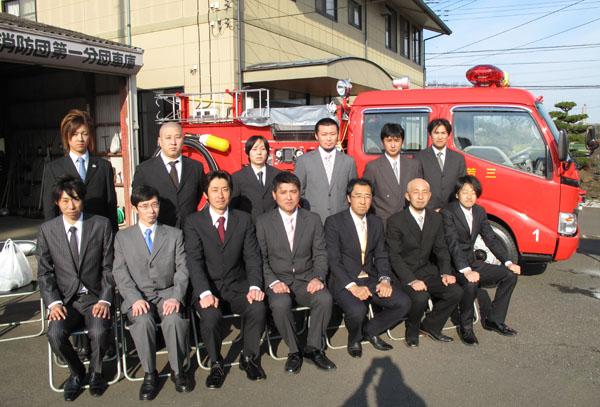 三芳町消防団第1分団新車輌お披露目_d0130714_16251892.jpg