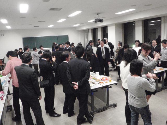 M先生退職記念講演会およびパーティ_c0025115_0194393.jpg