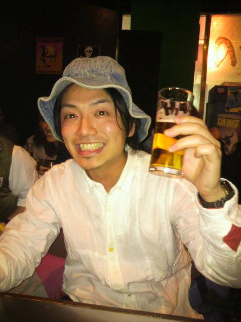 送別会 初心者タニ_e0173533_0231043.jpg