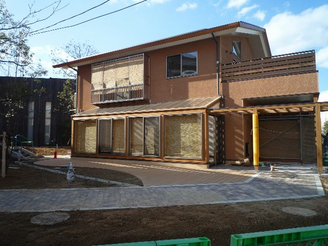 北九州市エコハウス いよいよ竣工直前!_d0027290_838513.jpg