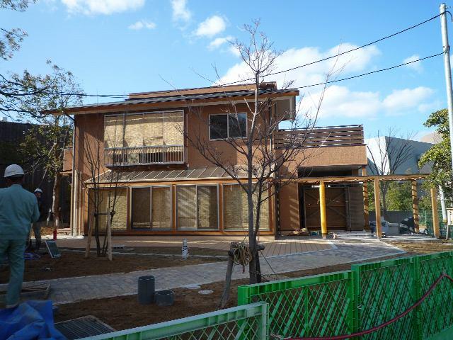 北九州市エコハウス いよいよ竣工直前!_d0027290_839585.jpg