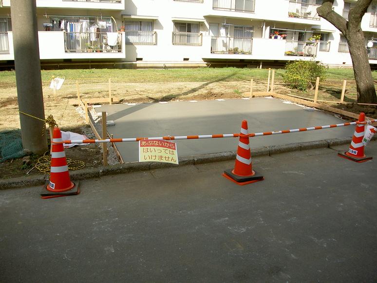 国立富士見台第二・第三団地 進捗状況-3_b0172896_18393553.jpg