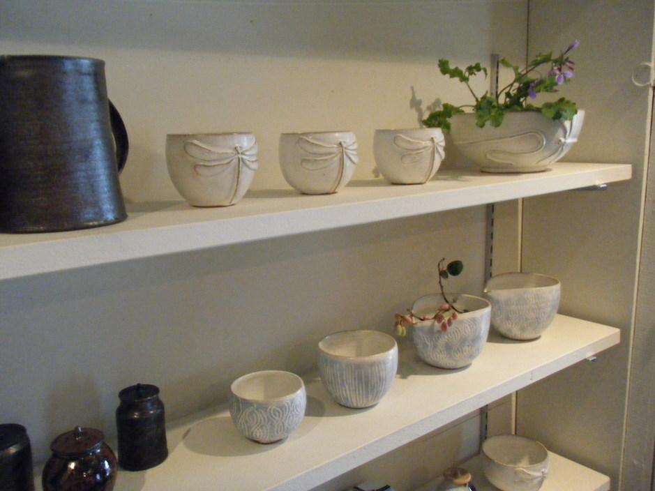 茶ガールの休日 展示風景_e0142956_18345835.jpg