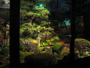 日本庭園の見える韓国鉄板焼_b0153663_18462839.jpg