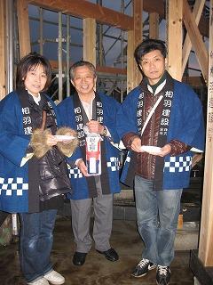 西所沢⑭ 上棟_d0005380_2242011.jpg