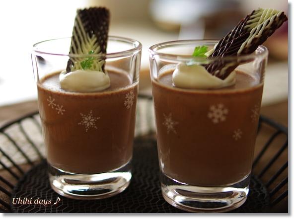 カルダモン香る チョコレートのパンナコッタ_f0179404_2112671.jpg