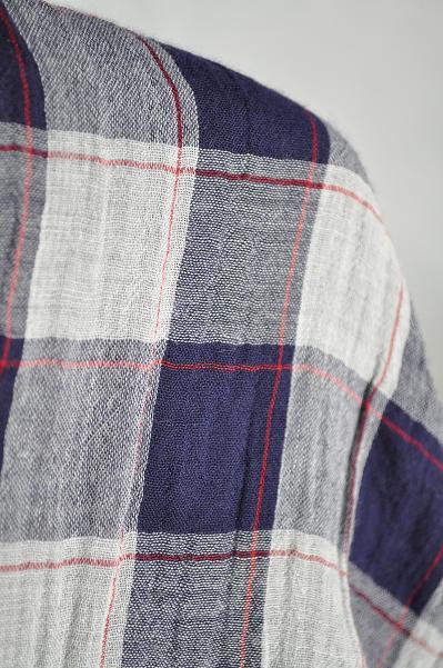 NATIC/ナティック ダブルガーゼロングシャツ