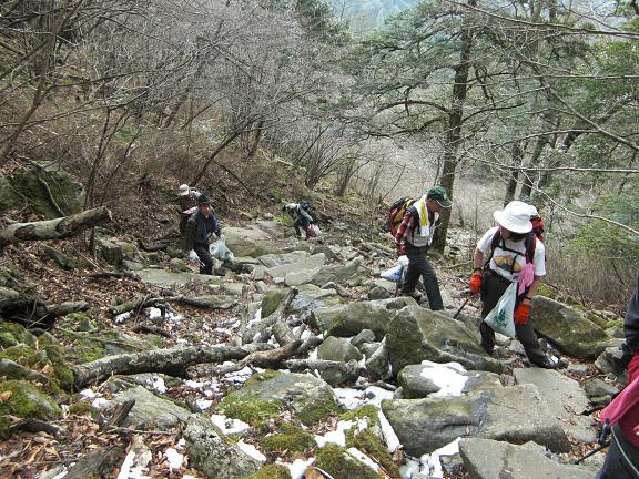 清掃登山、英彦山_e0164643_21282091.jpg