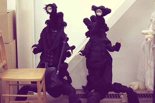 UNDERCOVER Black Grace Doll for Louis Vuitton_a0118453_1930145.jpg