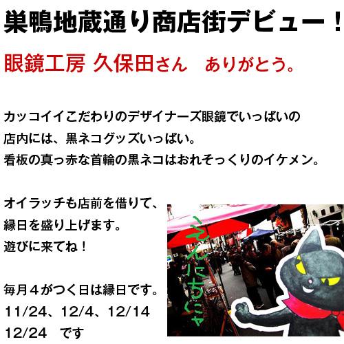 のら猫クロッチ「カレンダー2010」でデビューを飾る! _f0193056_122728.jpg