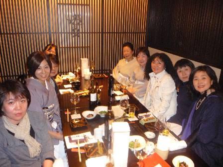 柿傳で親しむ荒木節子さんの染と光悦のお茶文化_a0138976_18394713.jpg