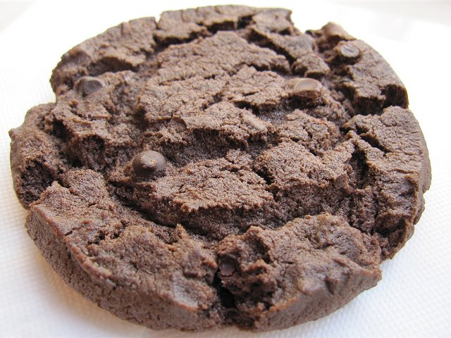 Wリッチチョコレートソフトクッキー@セルフリッチカフェ赤羽_b0167979_9422762.jpg
