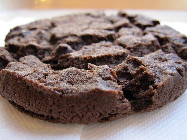 Wリッチチョコレートソフトクッキー@セルフリッチカフェ赤羽_b0167979_942375.jpg
