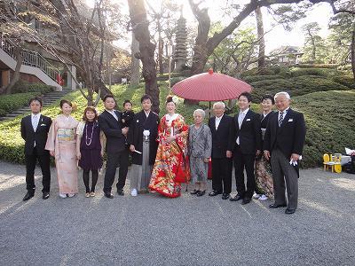 「大五郎&あゆみさん」結婚おめでとう!_b0092684_15441282.jpg