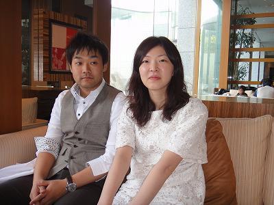 「大五郎&あゆみさん」結婚おめでとう!_b0092684_16203957.jpg