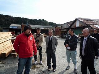 十津川村から視察に来られました。_f0060500_1931549.jpg