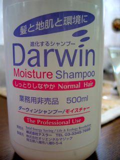 Darwin Shampoo(ダーウィン・シャンプー)_e0100332_2333285.jpg
