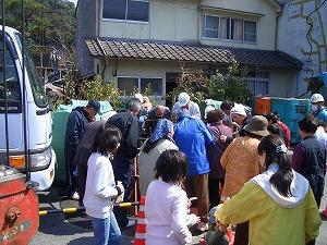 美咲町 藤原地区管渠推進工事 工事見学会_f0151251_1544712.jpg