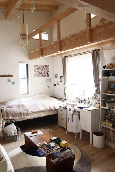「鶴ヶ島の家」 2階、子供部屋_f0230666_1512752.jpg
