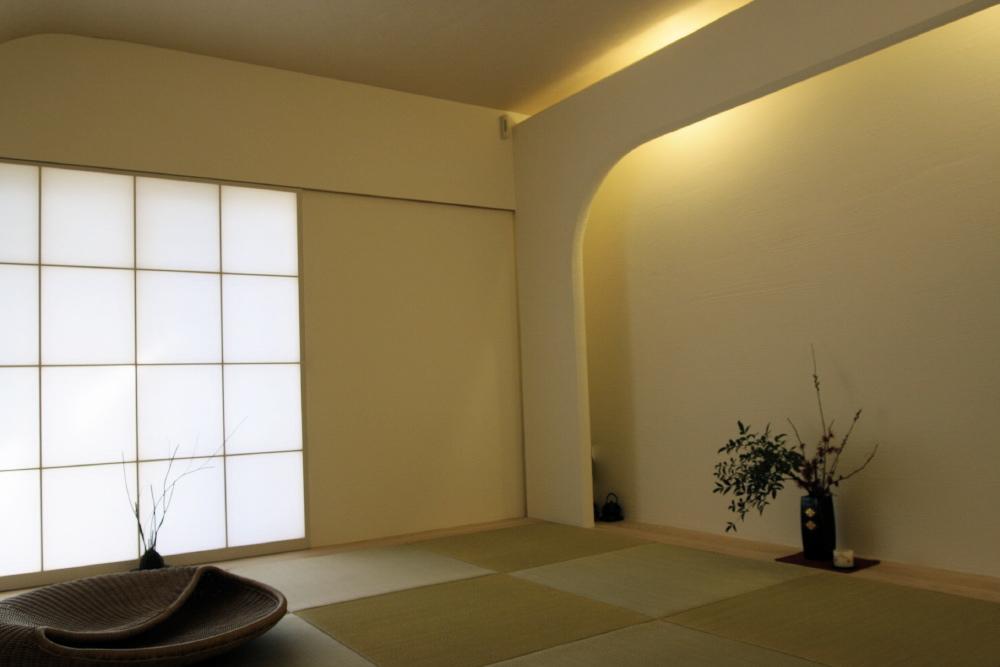 「鶴ヶ島の家」 和室 「四分一庵(しぶいったん)」_f0230666_1625820.jpg
