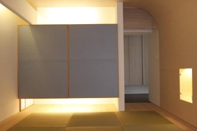 「鶴ヶ島の家」 和室 「四分一庵(しぶいったん)」_f0230666_16275628.jpg