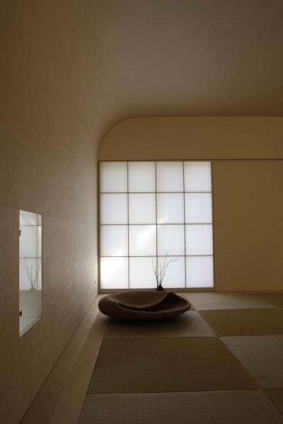 「鶴ヶ島の家」 和室 「四分一庵(しぶいったん)」_f0230666_1695447.jpg