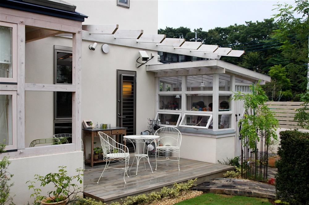 「鶴ヶ島の家」 garden、potting shed_f0230666_17185794.jpg