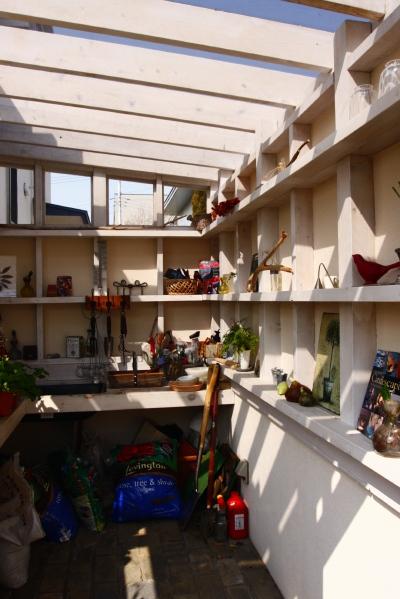 「鶴ヶ島の家」 garden、potting shed_f0230666_17252588.jpg