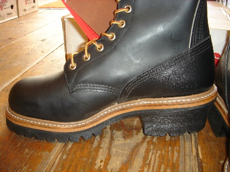 """RED WING \""""PT99\"""" Logger BOOTS_c0146178_12103777.jpg"""
