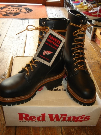 """RED WING \""""PT99\"""" Logger BOOTS_c0146178_1212244.jpg"""