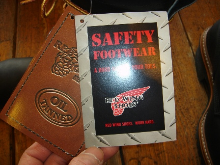 """RED WING \""""PT99\"""" Logger BOOTS_c0146178_1221360.jpg"""