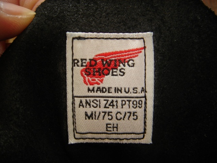 """RED WING \""""PT99\"""" Logger BOOTS_c0146178_1252259.jpg"""