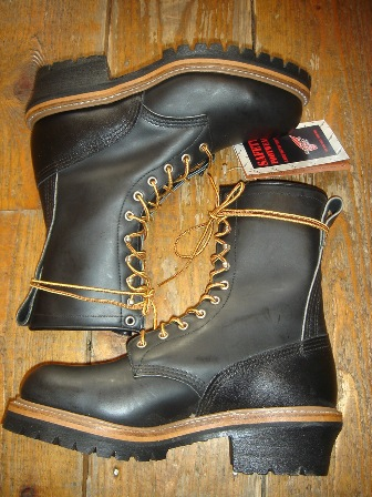 """RED WING \""""PT99\"""" Logger BOOTS_c0146178_1294636.jpg"""