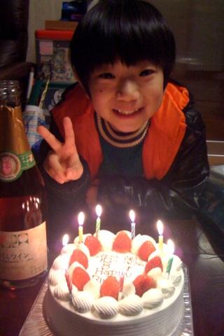 長男佑太朗8歳の誕生会_d0084478_14204557.jpg