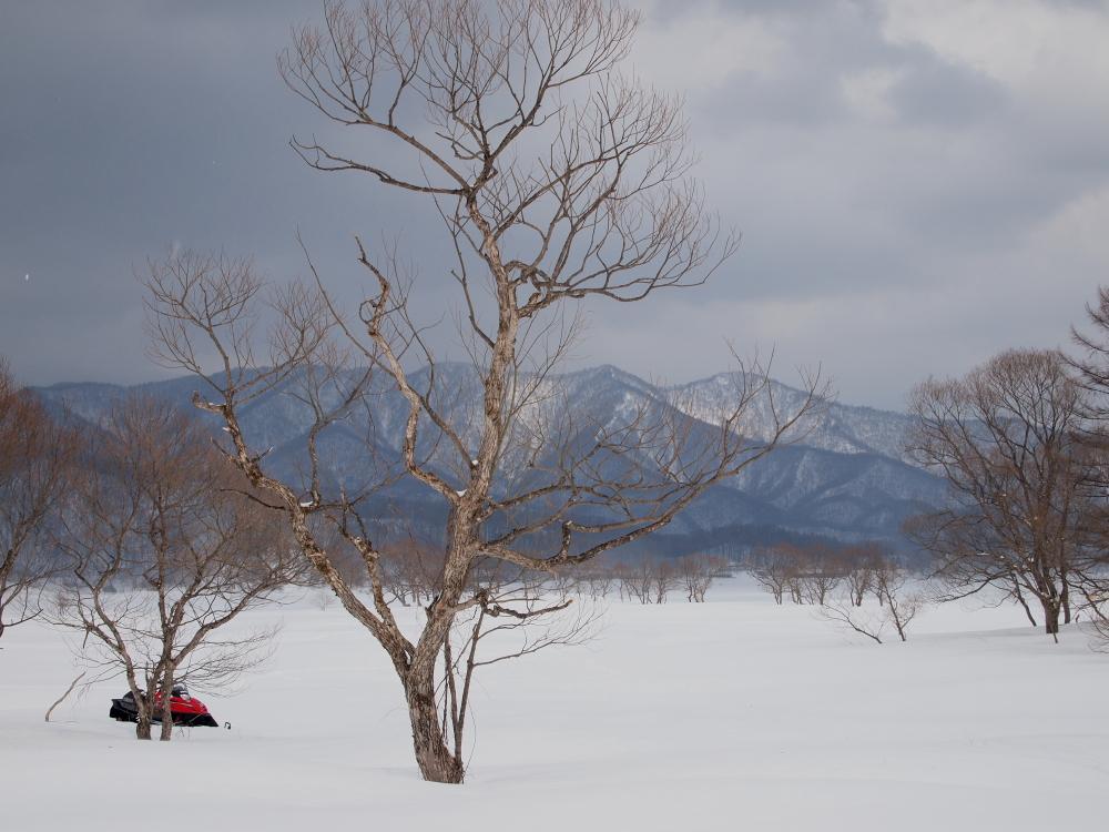 裏磐梯 桧原湖風景    2010年3月27日 撮影_e0143883_203873.jpg