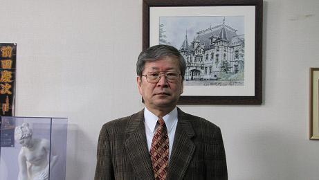岡崎勝利さんが退職のご挨拶に_c0075701_20342616.jpg