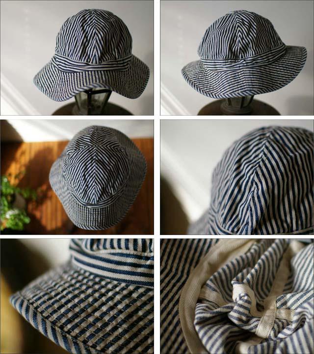 orslow[オアスロウ] US NAVY HAT 10oz ジンバブエ cotton HICKORY _f0051306_2494424.jpg