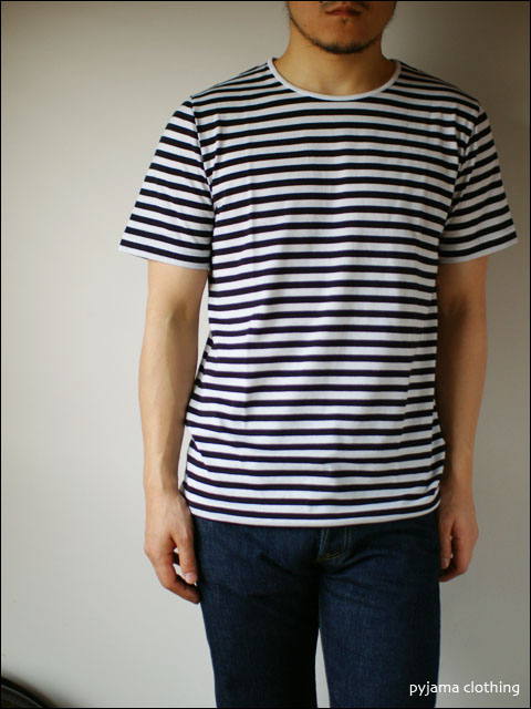 pyjama clothing [ピジャマクロージング] S/S CREW NECK ST [7936] _f0051306_2531149.jpg