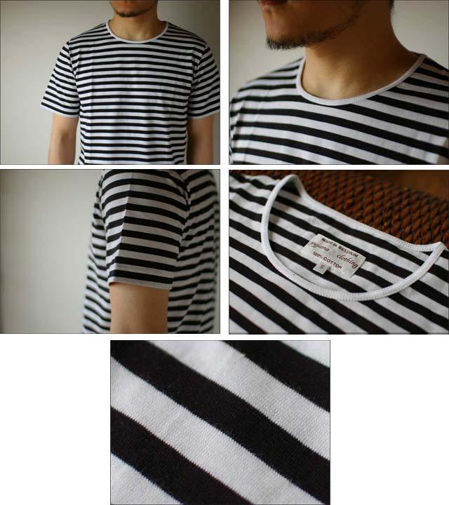 pyjama clothing [ピジャマクロージング] S/S CREW NECK ST [7936] _f0051306_2531743.jpg