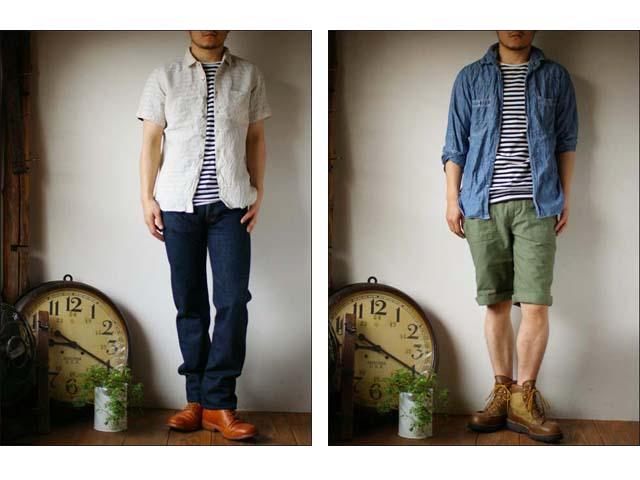 pyjama clothing [ピジャマクロージング] S/S CREW NECK ST [7936] _f0051306_2532342.jpg