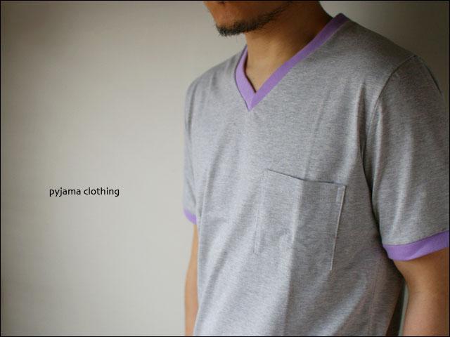 pyjama clothing [ピジャマクロージング] S/S TRIM POCKET V [7947] _f0051306_2545950.jpg