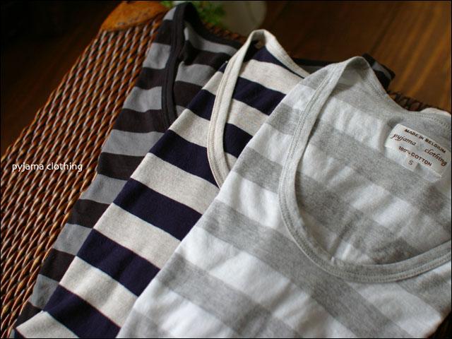 pyjama clothing [ピジャマクロージング] S/S U-NECK ST [7952] _f0051306_2561630.jpg
