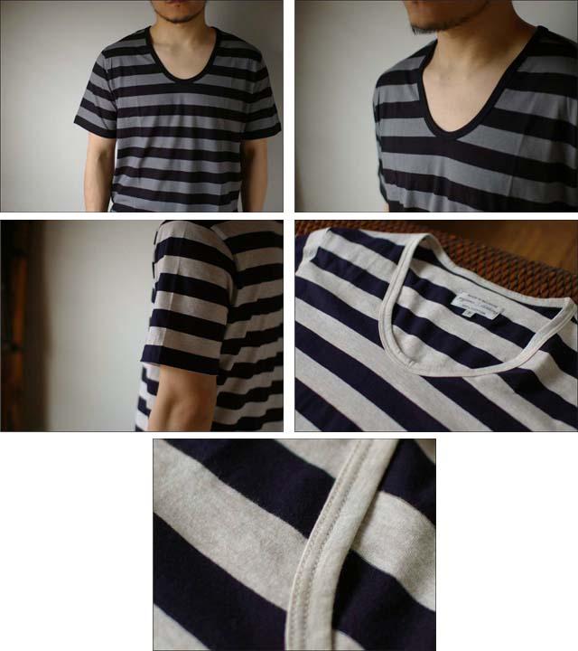 pyjama clothing [ピジャマクロージング] S/S U-NECK ST [7952] _f0051306_2562635.jpg