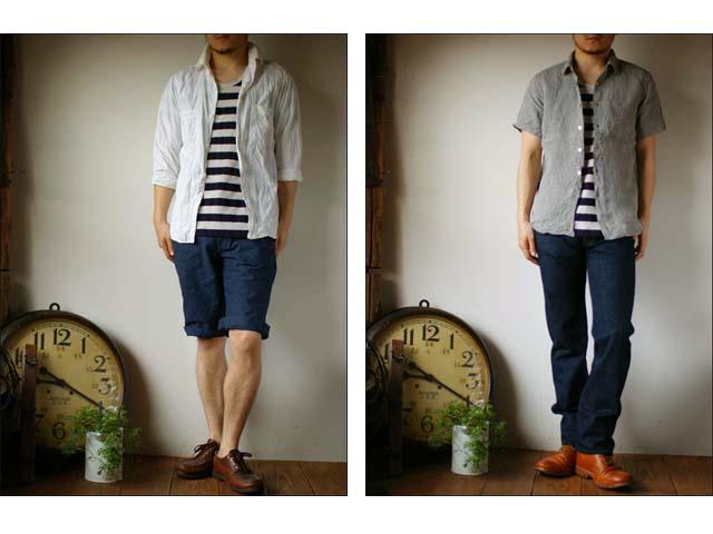 pyjama clothing [ピジャマクロージング] S/S U-NECK ST [7952] _f0051306_256322.jpg