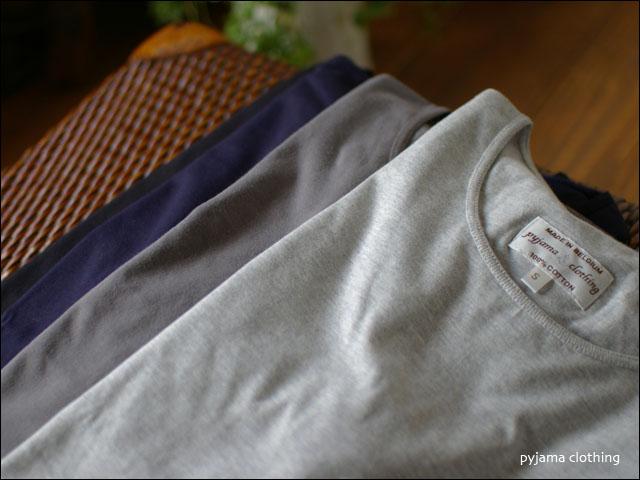 pyjama clothing [ピジャマクロージング] S/S CREW NECK [7935] _f0051306_2575089.jpg