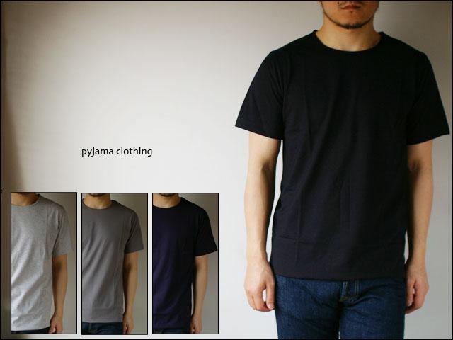 pyjama clothing [ピジャマクロージング] S/S CREW NECK [7935] _f0051306_257551.jpg