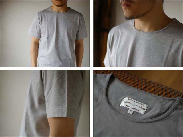 pyjama clothing [ピジャマクロージング] S/S CREW NECK [7935] _f0051306_2575981.jpg