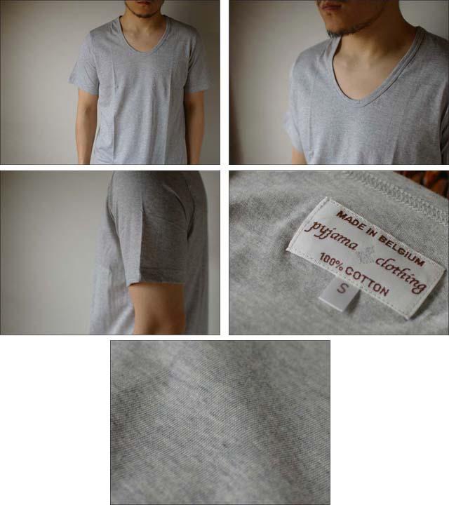 pyjama clothing [ピジャマクロージング] S/S U-NECK [7951] _f0051306_2592583.jpg