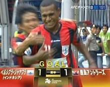 昨日の鹿島アントラーズvsペルシプラの試合(その2)(インドネシアのサッカー)_a0054926_1111143.jpg