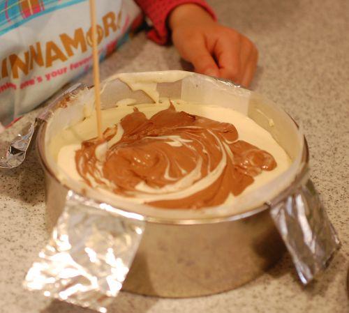 マーブルチョコチーズケーキ編_f0224567_12435541.jpg